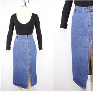 Jordache jean skirt